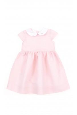 Powder-pink dress short sleeved, Polo Ralph Lauren
