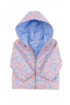 Baby hooded jacket colourfully flowered, Polo Ralph Lauren