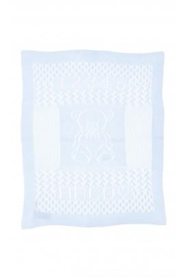 Blue openwork cover-blanket, Polo Ralph Lauren