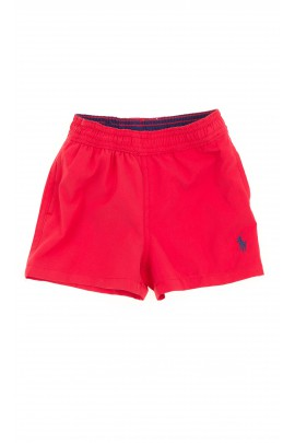 Red swim shorts, Polo Ralph Lauren