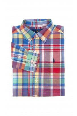 Boy shirt colourfully checked, Polo Ralph Lauren