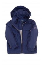 Navy blue boy anorak on cotton lining, Polo Ralph Lauren