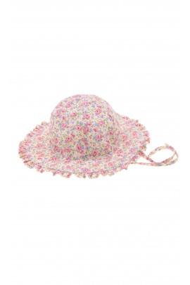 Flowery baby hat, Polo Ralph Lauren
