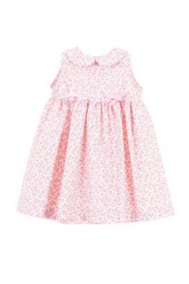 Baby dress with pink flowers, Ferrari Mariella