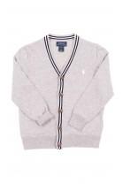 Grey cardigan V-neck, Polo Ralph Lauren