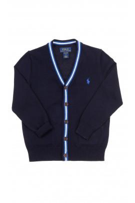Navy blue cardigan V-neck, Polo Ralph Lauren