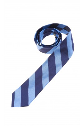 Navy-and-blue boys tie, Polo Ralph Lauren