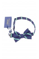 Navy blue and green boys bow tie, Polo Ralph Lauren