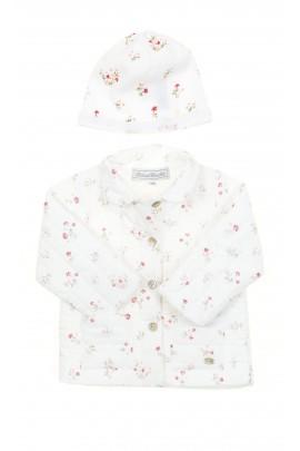White flowery girls jacket, Tartine et Chocolat