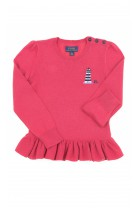 Thin sweater with frill at the bottom, Polo Ralph Lauren