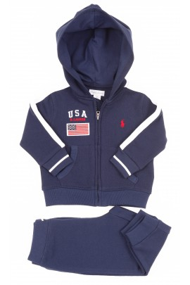 Navy blue boys tracksuit, Polo Ralph Lauren