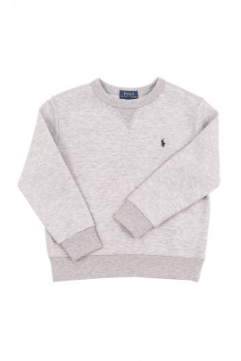 Grey boys sweatshirt without hood, Polo Ralph Lauren
