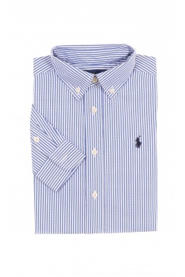 Boys shirt striped white-and-blue, Polo Ralph Lauren
