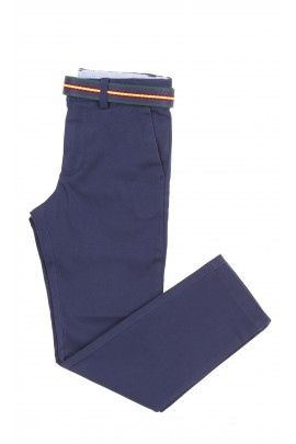 Navy blue elegant boys trousers, Polo Ralph Lauren