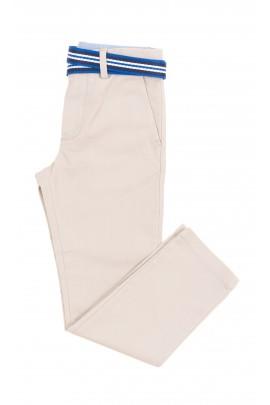 Beige elegant boys trousers, Polo Ralph Lauren