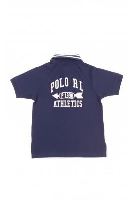 Grey and navy blue boy polo shirt, Polo Ralph Lauren
