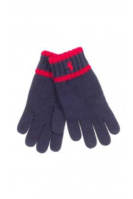 Navy blue gloves, Polo Ralph Lauren