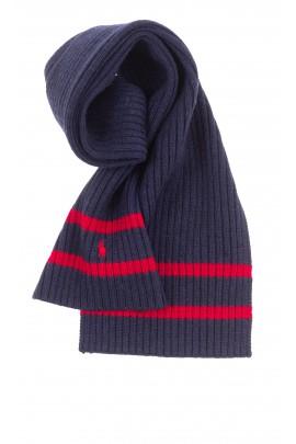 Navy blue scarf, Polo Ralph Lauren