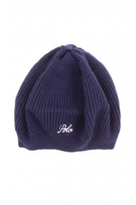 Navy blue girl beret, Polo Ralph Lauren