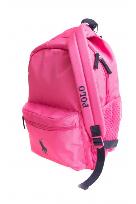 Pink 1-compartment backpack, Polo Ralph Lauren