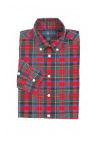 Boy shirt checked red-and-green, Polo Ralph Lauren
