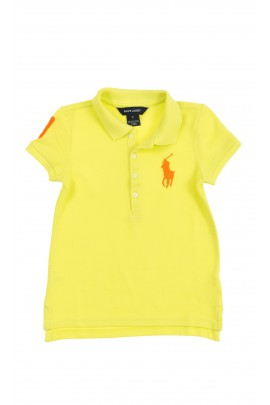 Lemon yellow girl polo shirt, Polo Ralph Lauren