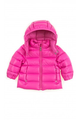 Pink down hooded jacket, Polo Ralph Lauren