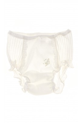 Baby panties ecru for baptism, La Perla