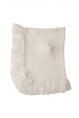 Milk-white cover for baptism, Aletta