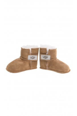 Brown baby shoes, UGG