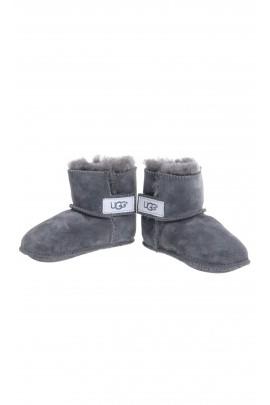 Grey baby boots, UGG