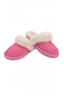 Pink classic slip-on slippers, UGG