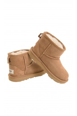 Light-brown boots over-the-ankle, UGG