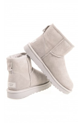 Light-grey boots over-the-ankle, UGG