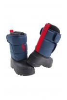 Navy blue girls snow boots, Polo Ralph Lauren