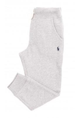 Szare spodnie dresowe chłopięce, Polo Ralph Lauren