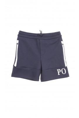 Granatowe krótkie spodenki sportowe, Polo Ralph Lauren