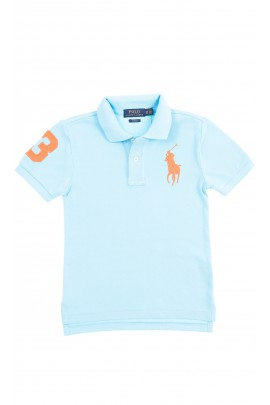 Turquoise boy polo shirt, Polo Ralph Lauren
