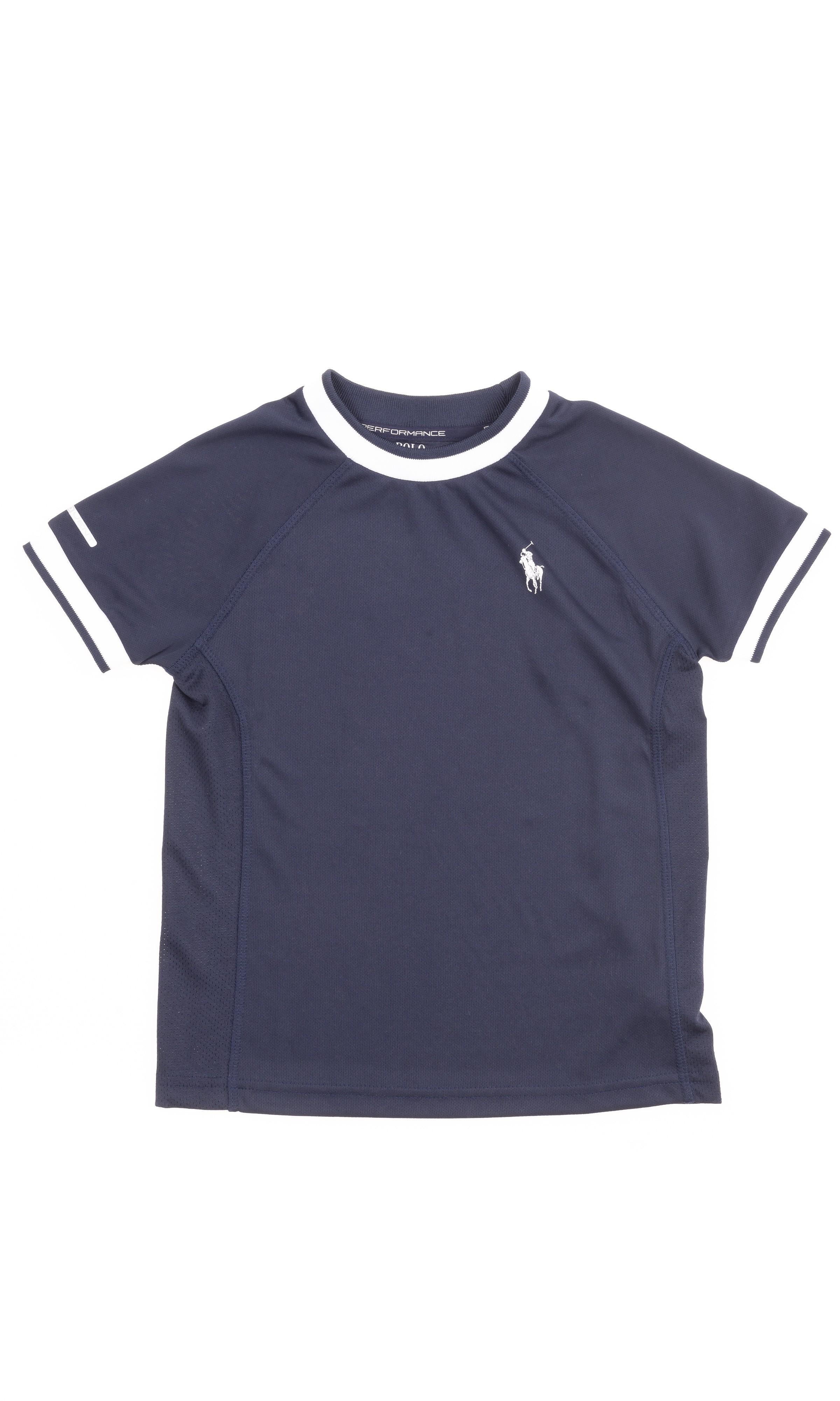 a7aa0b9b4 Granatowy t-shirt chłopięcy