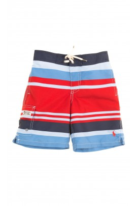 Boys shorts striped red-and-blue, Polo Ralph Lauren
