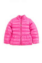 Pink girl light jacket slightly insulated, Polo Ralph Lauren