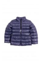 Navy blue girl light jacket slightly insulated, Polo Ralph Lauren