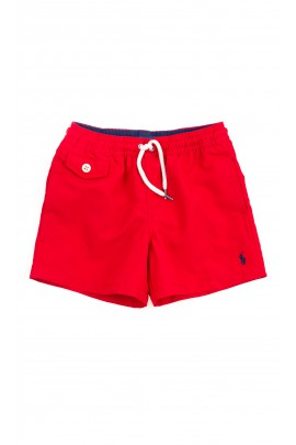 Red boys swim shorts, Polo Ralph Lauren