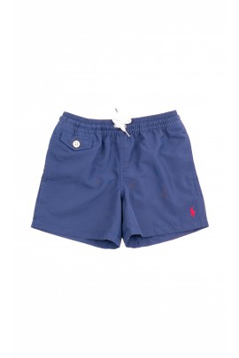 Navy blue boys swim shorts, Polo Ralph Lauren