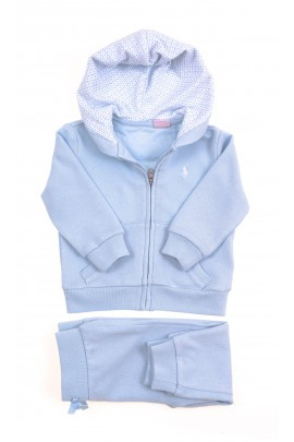 Blue baby tracksuit, Polo Ralph Lauren