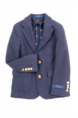 Navy blue boys sports jacket, Polo Ralph Lauren