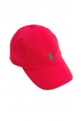 Red cap, Polo Ralph Lauren
