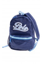 Navy blue single compartment backpack, Polo Ralph Lauren