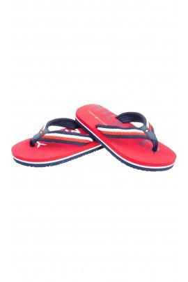 Red flip-flops for children, Tommy Hilfiger