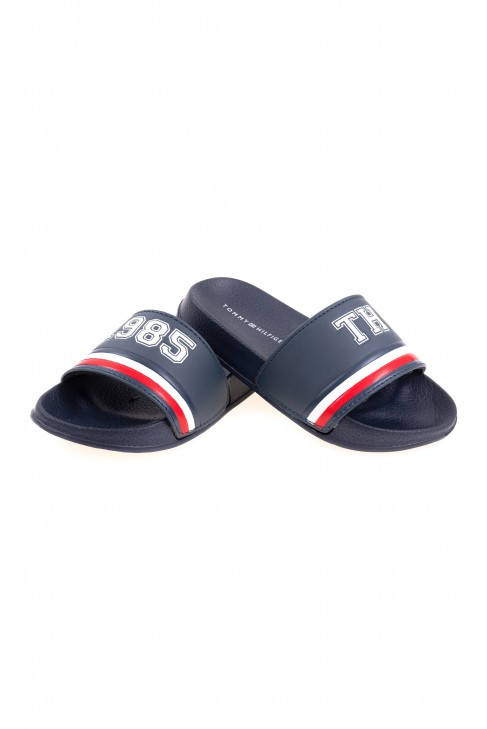 elegant shoes thoughts on fashion styles Navy blue slides for boys, Tommy Hilfiger - Celebrity-Club